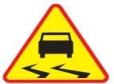 Ślizgawica na drogach