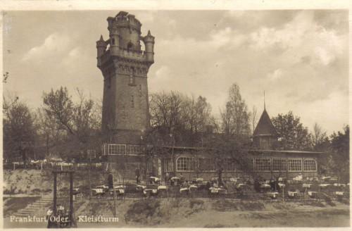 Odbudowa wieży Kleista