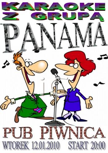 Karaoke w Pubie Piwnica - zagra zespół Panama