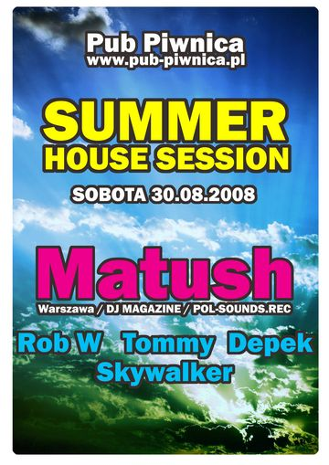 Słubice - impreza Summer House Session - Pub Piwnica