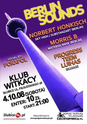 Berlin Sounds w klubie Witkacy
